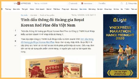 Thông đỏ hoàng gia Royal red pine đến Việt Nam